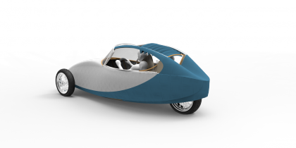 Oskar – future human hybrid vehicles
