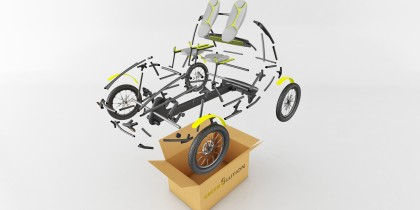 Human Power Vehicles Innovation – Lightweight and energy efficient